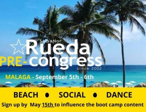 Rueda PRE-Congress – deadline May 15th