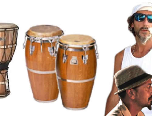 Live percussion in Afro/Rumba workshops