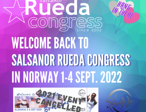 Next SalsaNor Rueda Congress will be 1-4 September 2022
